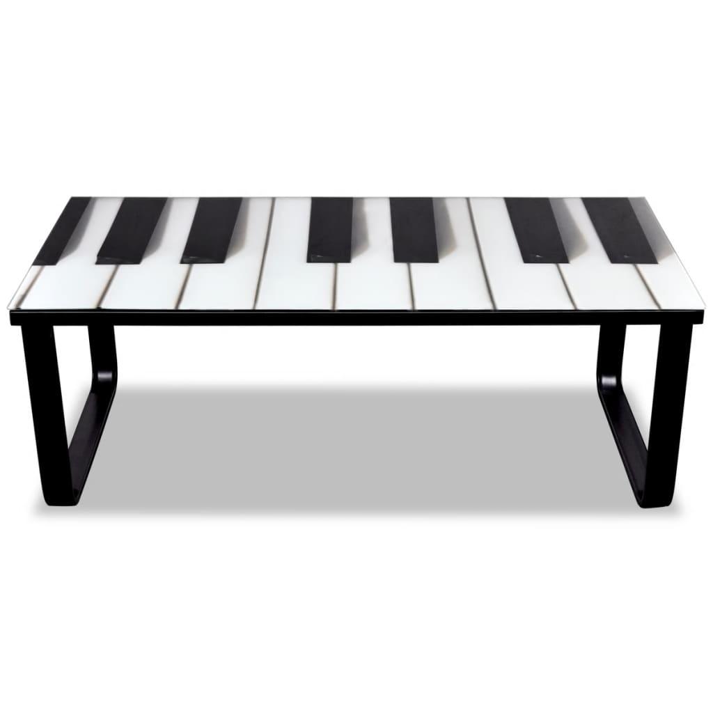 Acheter table basse en verre design piano pas cher - Table basse ouvrable ...