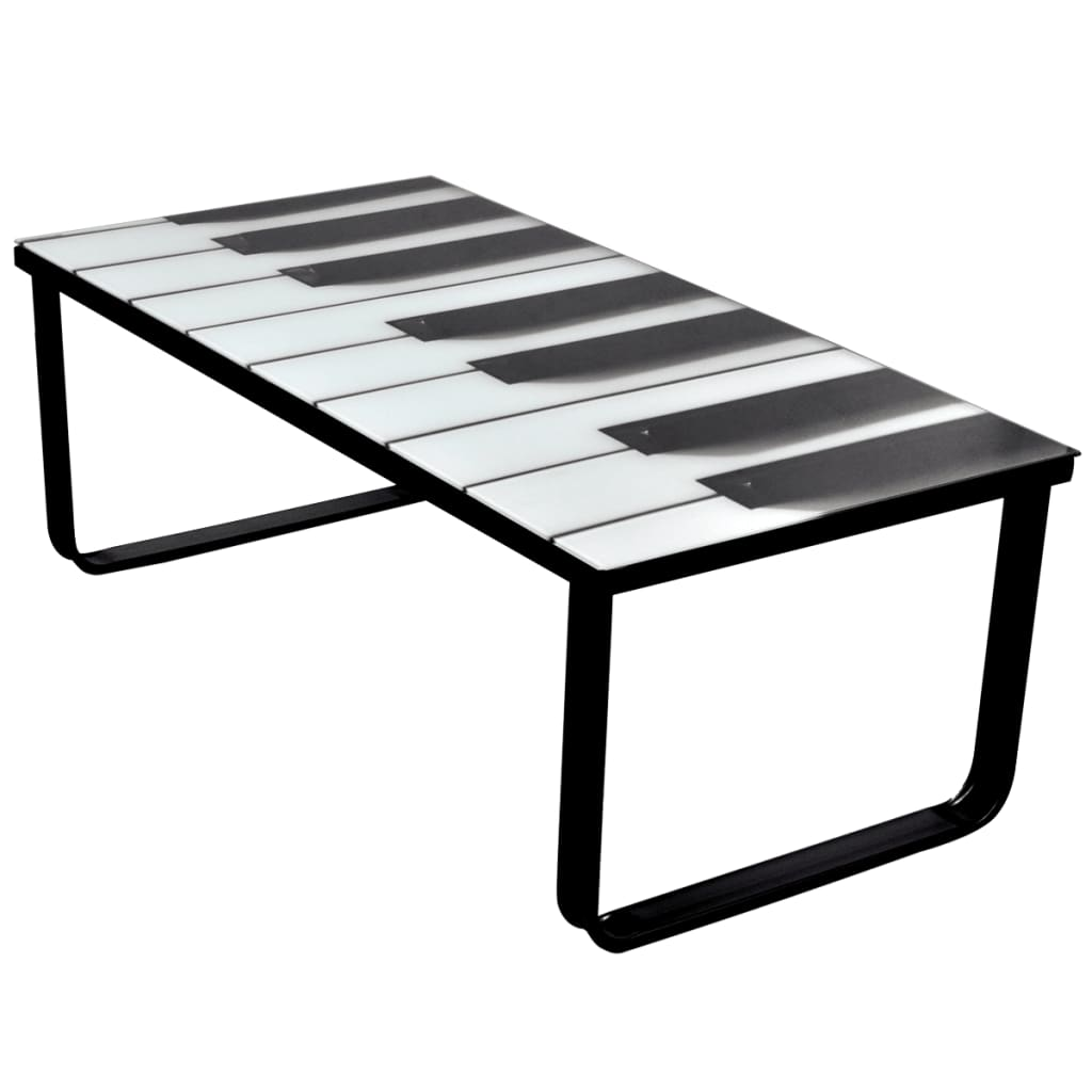 La boutique en ligne table basse en verre design piano Table en verre design