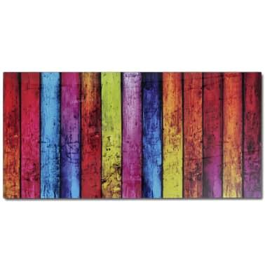 Glass Coffee Table with Rainbow Printing[5/7]