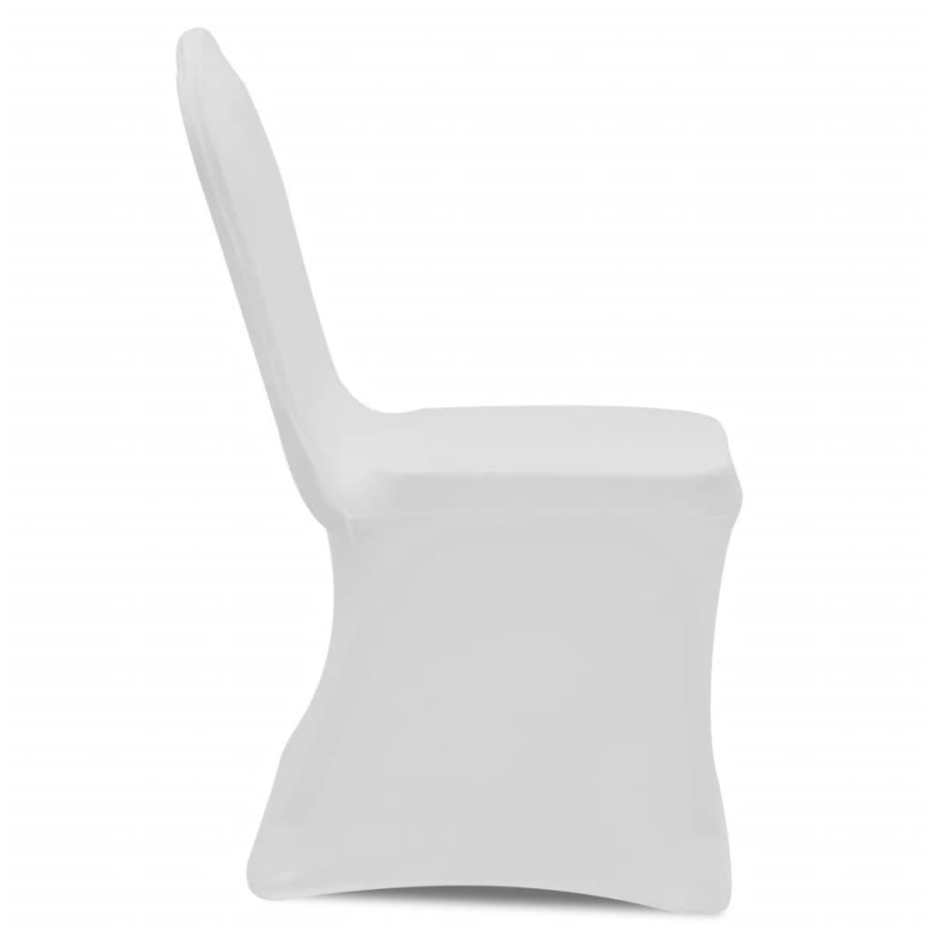 Coprisedia in tessuto elasticizzato bianco 6 pezzi - Coprisedia in tessuto ikea ...