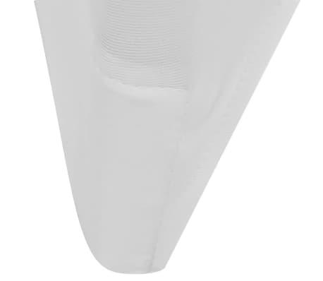 Biele strečové návleky na stoličky, 6 ks[6/7]