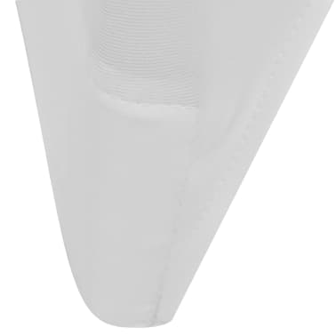 Chair Cover Stretch White 6 pcs[6/7]