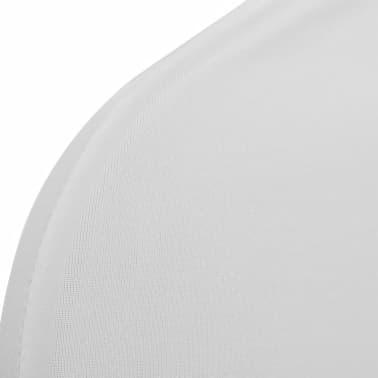 Biele strečové návleky na stoličky, 6 ks[7/7]