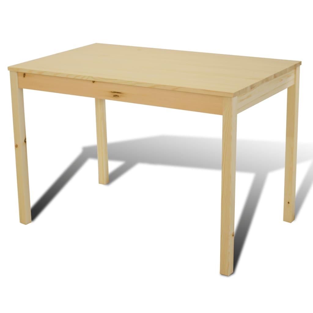 Articoli per Tavolo con 4 sedie in Legno Naturale  vidaXL.it