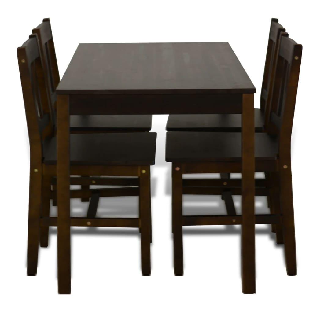 La boutique en ligne table manger avec 4 chaises en bois - Table a manger avec chaises ...