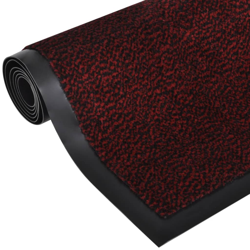 acheter tapis rectangulaire antid rapant 180 x 120 cm rouge pas cher. Black Bedroom Furniture Sets. Home Design Ideas