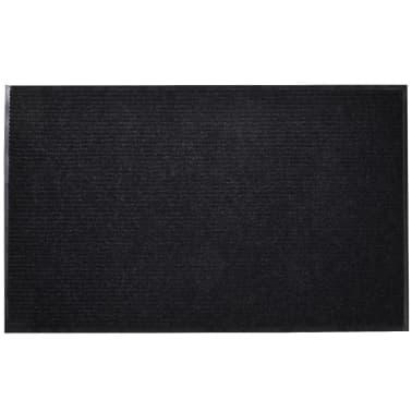 """Black PVC Door Mat 35"""" x 59""""[1/6]"""