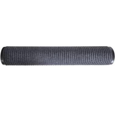 Alfombra de entrada de pvc gris 120 x 180 cm tienda for Alfombra 180 x 240