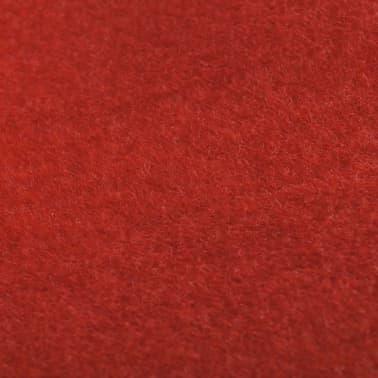 Červený koberec vidaXL - 1 x 10 m, extra ťažký 400 g/m2[5/6]