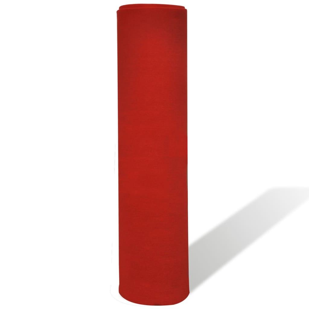 vidaxl roter teppich 1 x 20 m extra schwer 400 g m g nstig kaufen. Black Bedroom Furniture Sets. Home Design Ideas