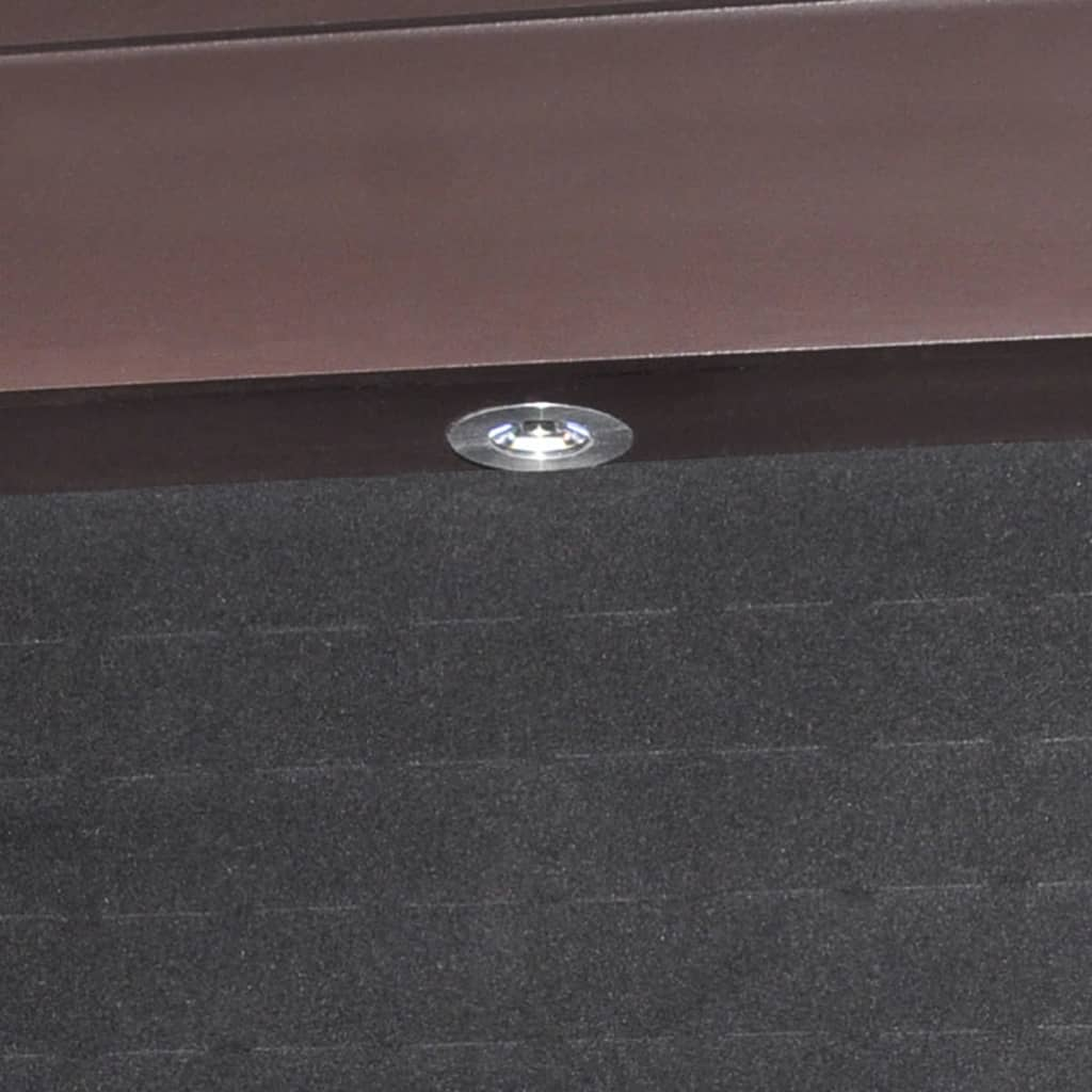 la boutique en ligne armoire bijoux sur pied avec miroir et clairage led brun. Black Bedroom Furniture Sets. Home Design Ideas