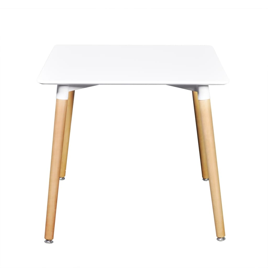 La boutique en ligne table de salle manger carr e blanc for Table salle a manger carree but