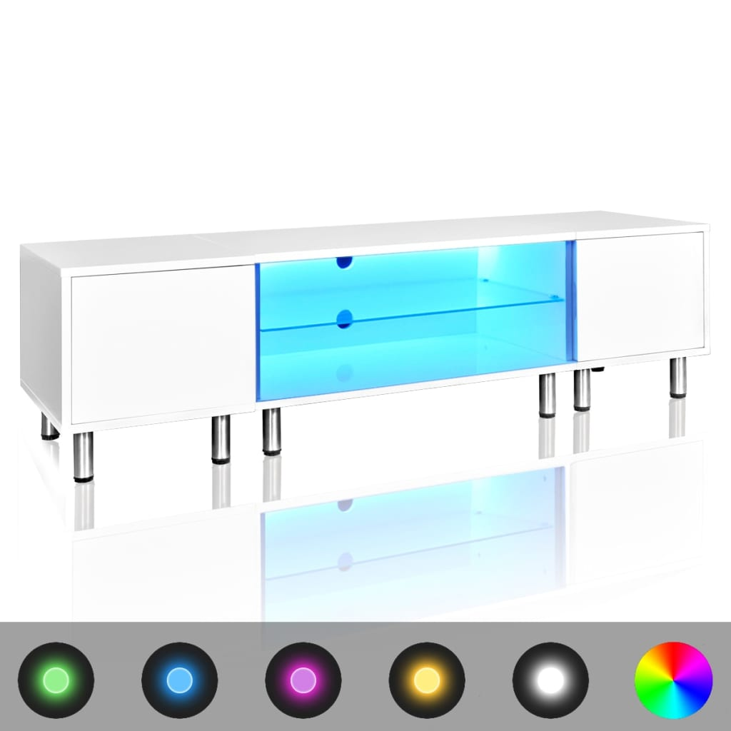 vidaxl-led-high-gloss-white-tv-stand-160-cm