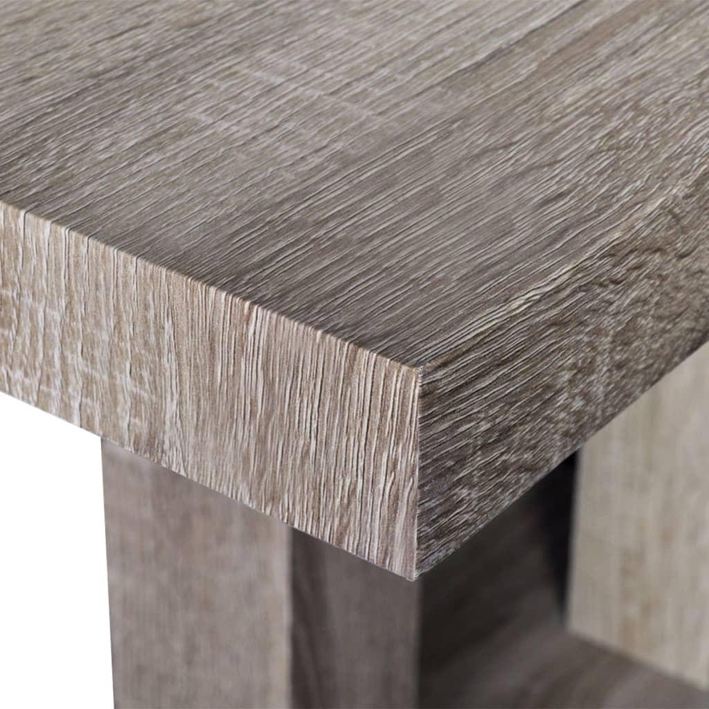 ... per Tavolo da pranzo con aspetto in legno di quercia  vidaXL.it