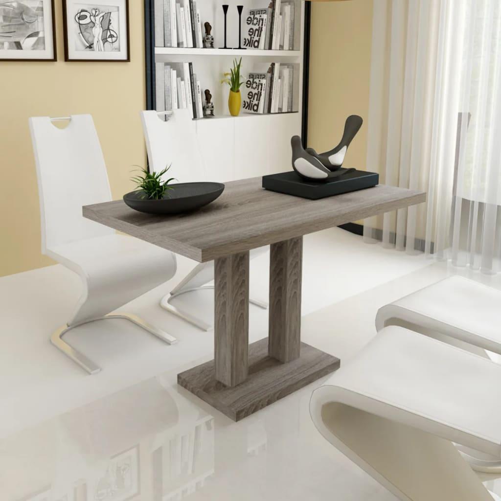 vidaXL Tavolo sala pranzo cucina casa rettangolare con aspetto legno ...
