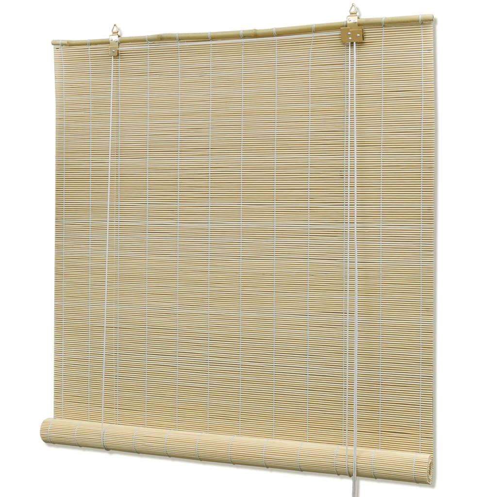 Naturlig Bambu Rullgardin 120 x 160 cm
