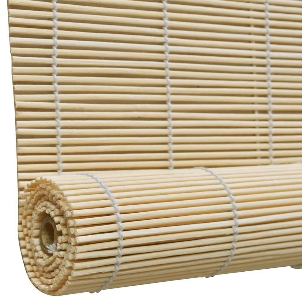 La boutique en ligne store enrouleur bambou naturel 150 x 220 cm - Store enrouleur exterieur bambou ...