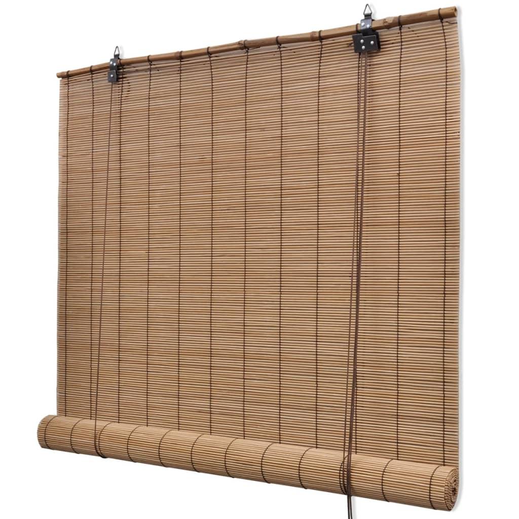 Acheter store enrouleur bambou brun 100 x 160 cm pas cher - Store enrouleur pas cher ...