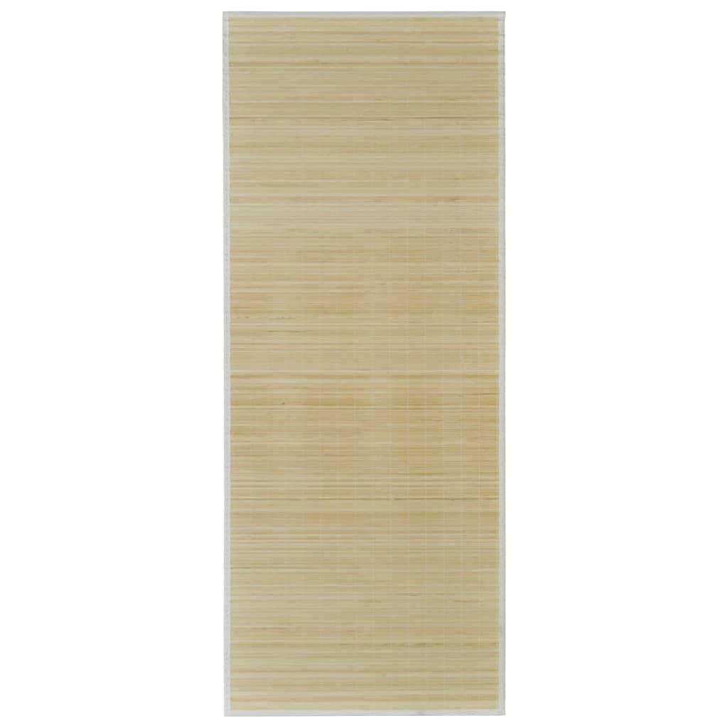 vidaXL-Alfombra-De-Bambu-Natural-Rectangular-80x200-cm-Salon-Sala-Estar-Mantel
