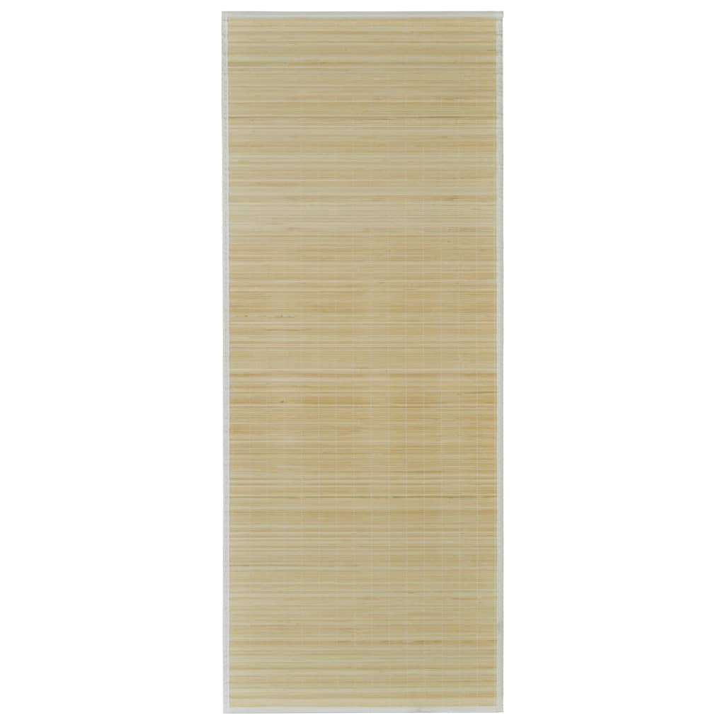 la boutique en ligne tapis en bambou naturel latte rectangulaire 80 x 300 cm. Black Bedroom Furniture Sets. Home Design Ideas
