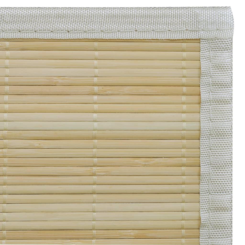 Alfombra de bamb natural rectangular 120 x 180 cm tienda for Alfombra 180 x 240