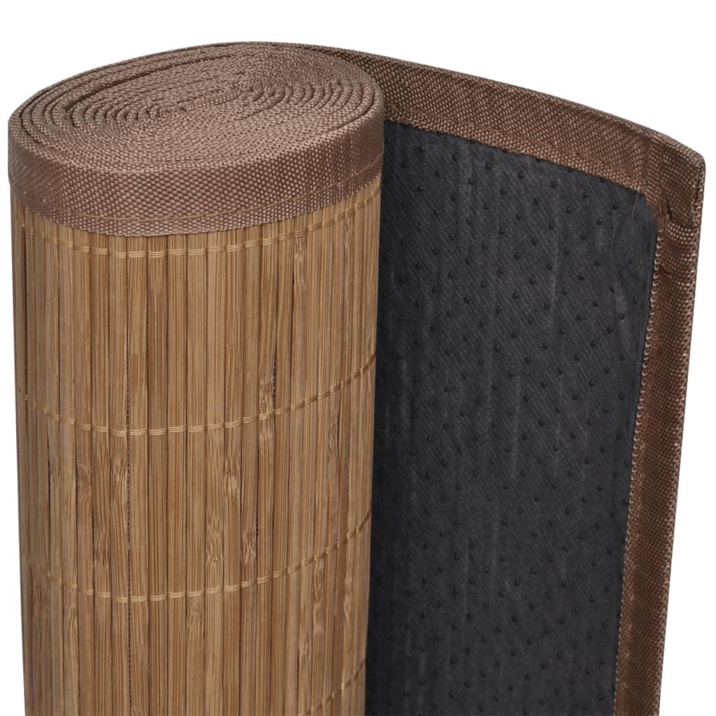 Articoli per Tappeto Bambù Marrone Rettangolare 80 x 200 cm ...