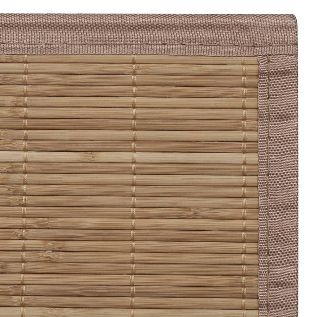 Articoli per tappeto bamb marrone rettangolare 80 x 200 for Diovan 80 x 200
