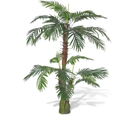 Acheter palmier artificiel plastique 150 cm pas cher for Palmier artificiel moins cher
