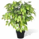 Artificial Dwarf Ficus with Pot 60 cm