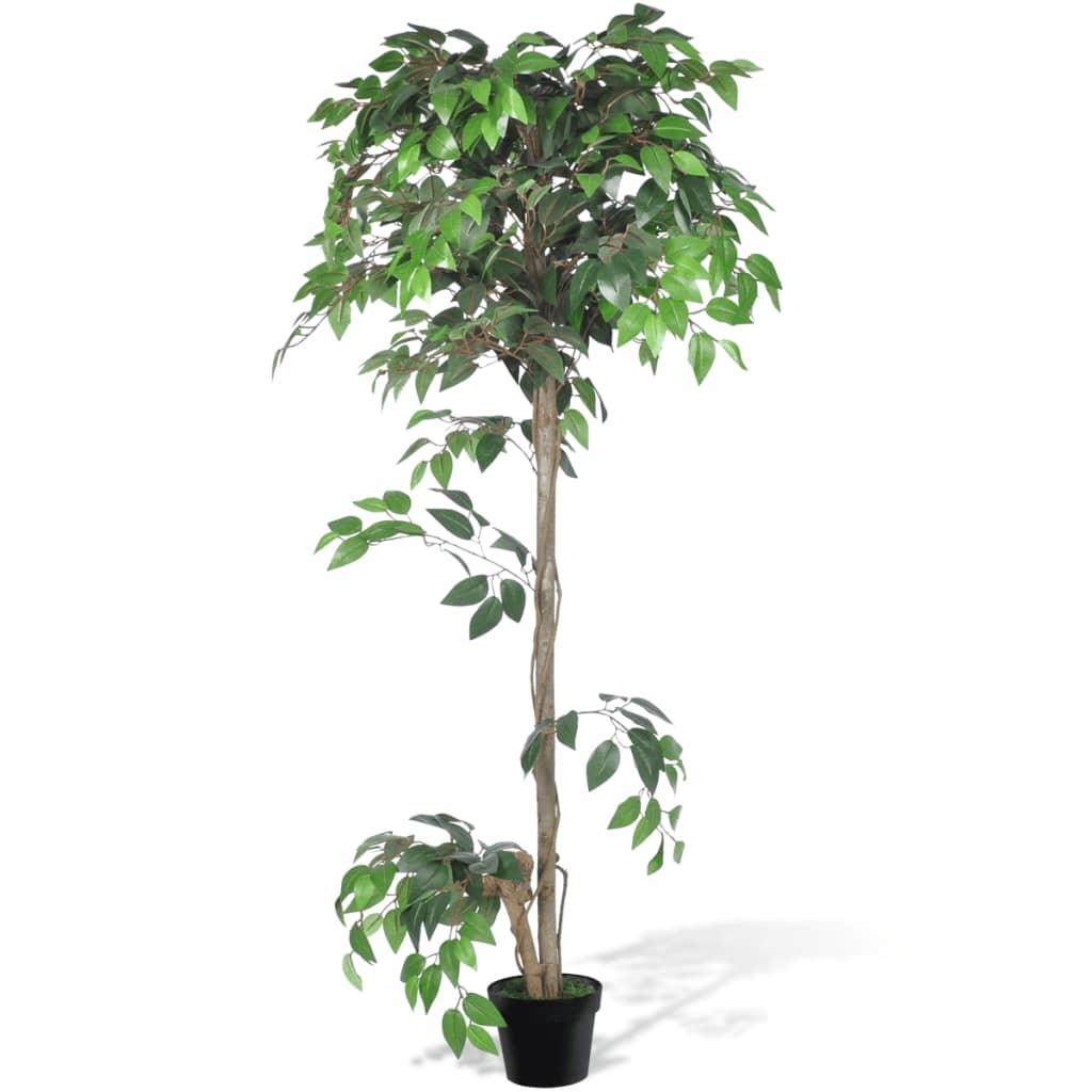 vidaXL Mesterséges Növény Fikuszfa Edény 160 cm