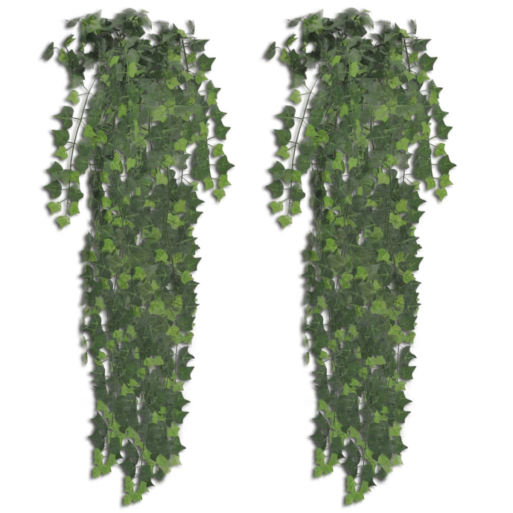 2 st Grön Konstgjord Murgröna 90 cm