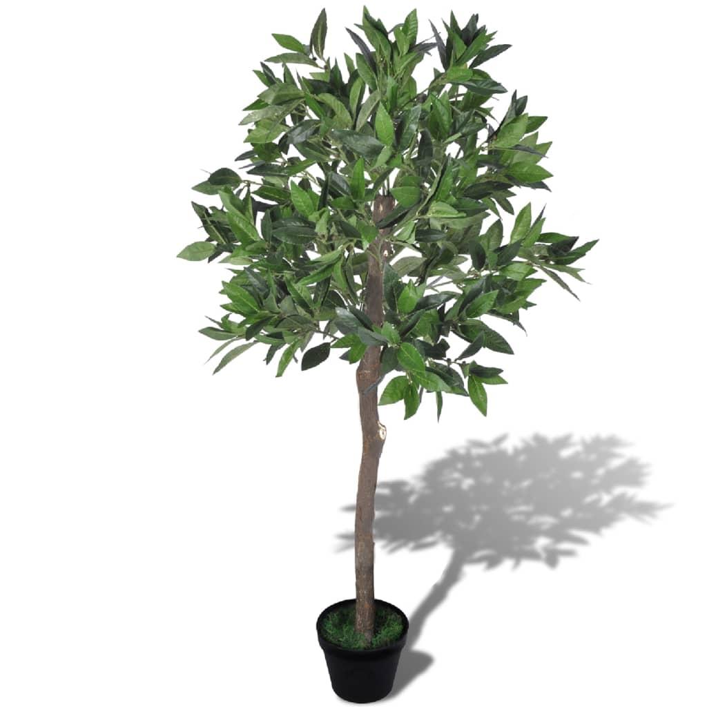 Konstgjort lagerträd med kruka 120 cm