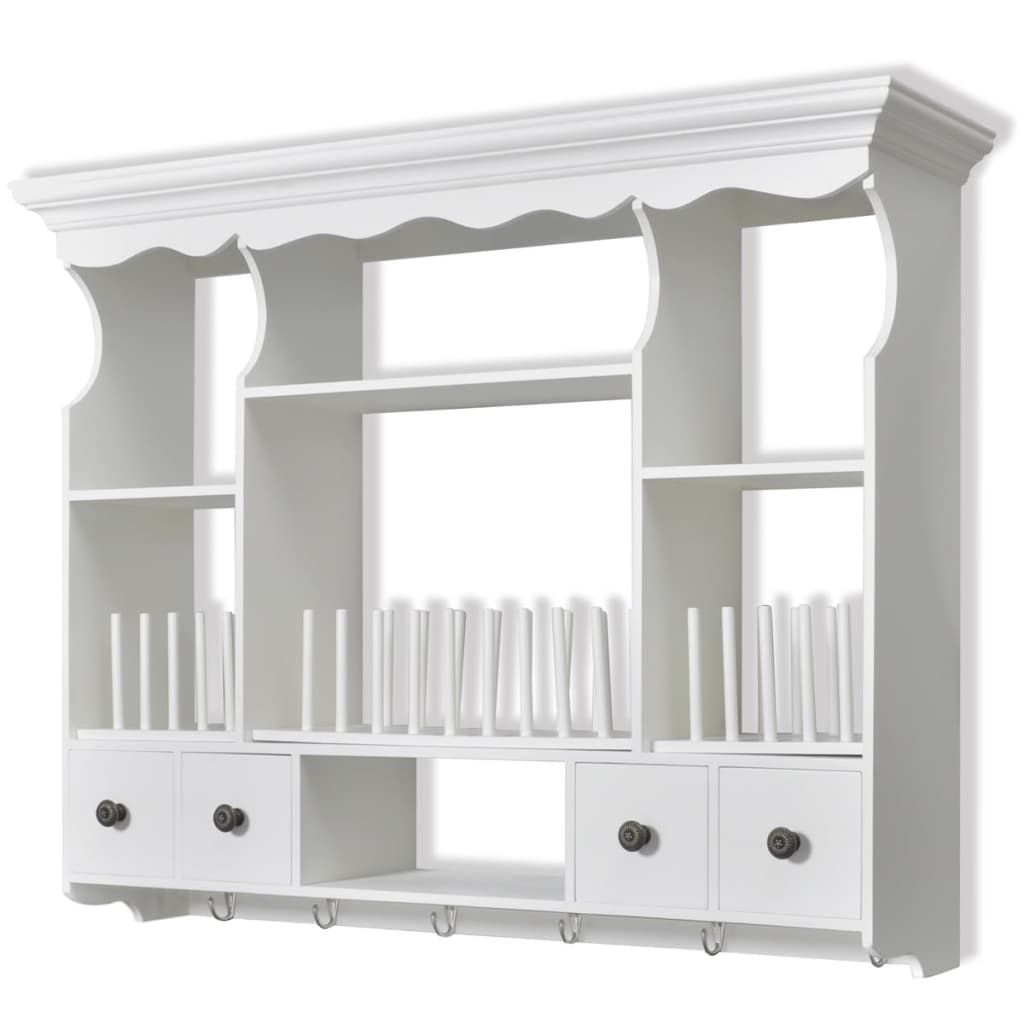 kitchen wall display cabinets new white wooden kitchen wall cabinet cupboard storage 6418