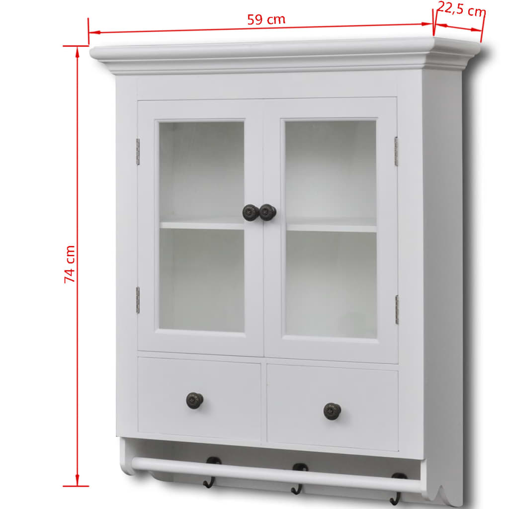 acheter armoire de cuisine murale avec porte en verre. Black Bedroom Furniture Sets. Home Design Ideas