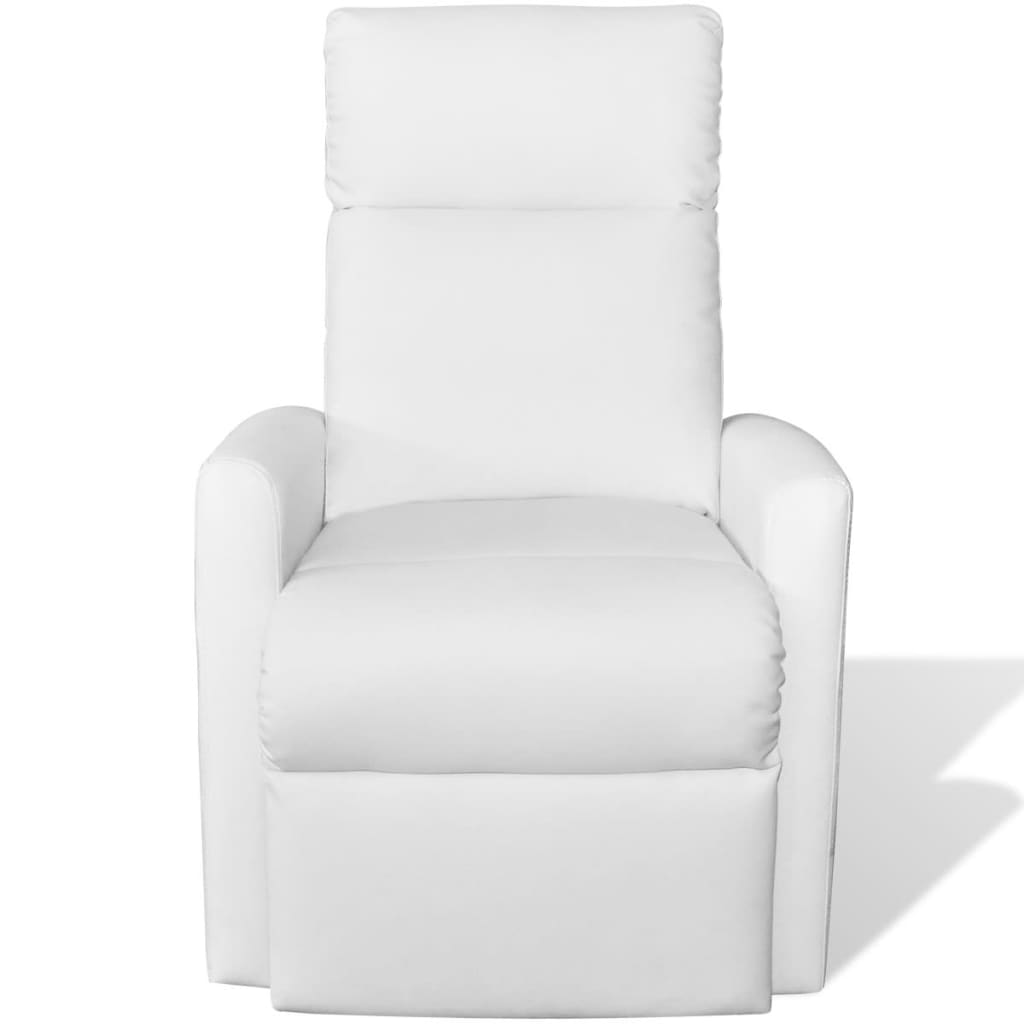 la boutique en ligne fauteuil lectrique inclinable tv 2 positions blanc. Black Bedroom Furniture Sets. Home Design Ideas