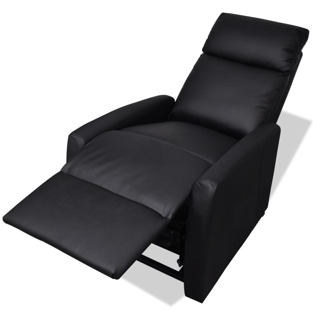 la boutique en ligne fauteuil lectrique inclinable tv 2 positions noir. Black Bedroom Furniture Sets. Home Design Ideas