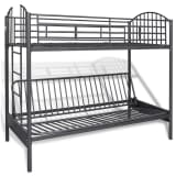 Children's Futon Bunk Bed Frame
