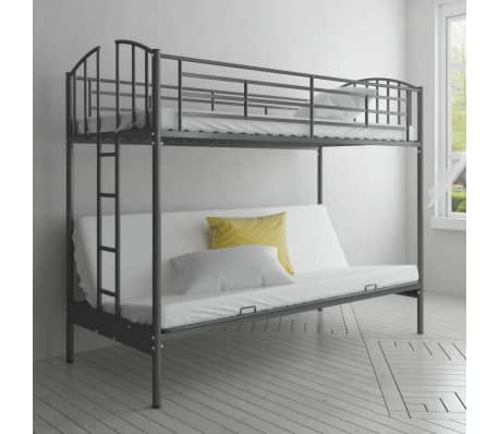 children 39 s futon bunk bed frame. Black Bedroom Furniture Sets. Home Design Ideas