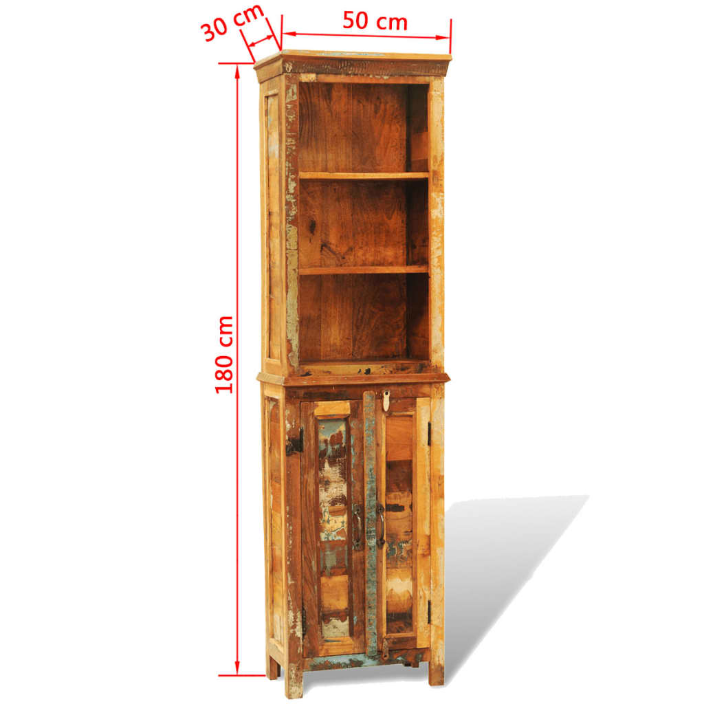 der b cherregal holz mix recyceltes holz online shop. Black Bedroom Furniture Sets. Home Design Ideas