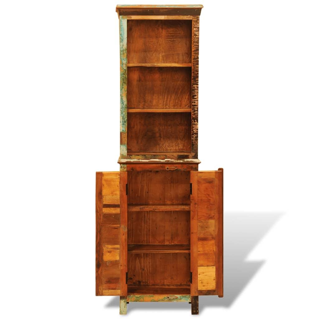 Vidaxl Co Uk Vintage Style Reclaimed Solid Wood Bookshelf