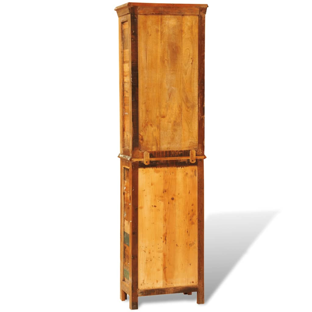 la boutique en ligne biblioth que en bois recycl style vintage. Black Bedroom Furniture Sets. Home Design Ideas