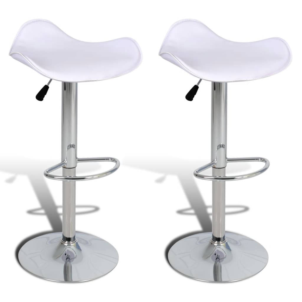 La boutique en ligne 2 tabourets de bar blancs pivotants - Amazon table de bar ...