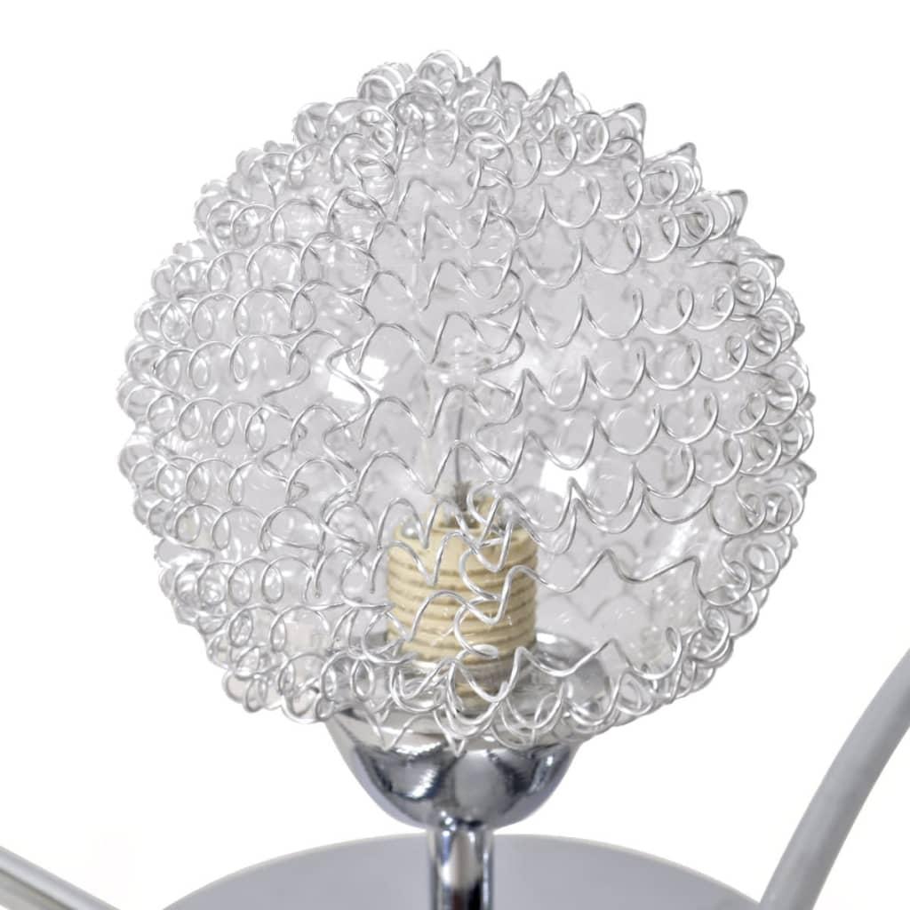 acheter lampe de plafond avec grillage m tallique pour 5 ampoules g9 pas cher. Black Bedroom Furniture Sets. Home Design Ideas