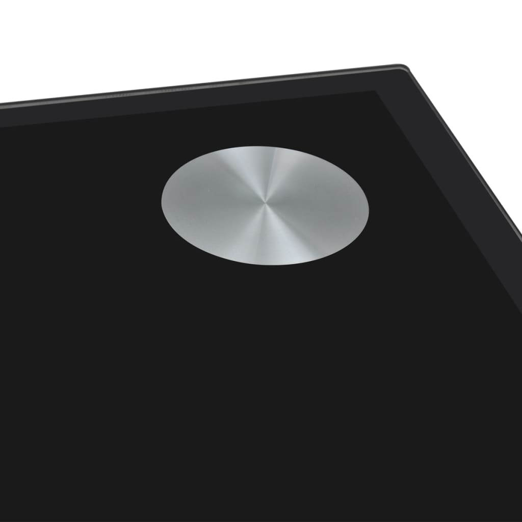 Black Glass Top Dining Table vidaXLcomau : image from www.vidaxl.com.au size 1024 x 1024 jpeg 20kB