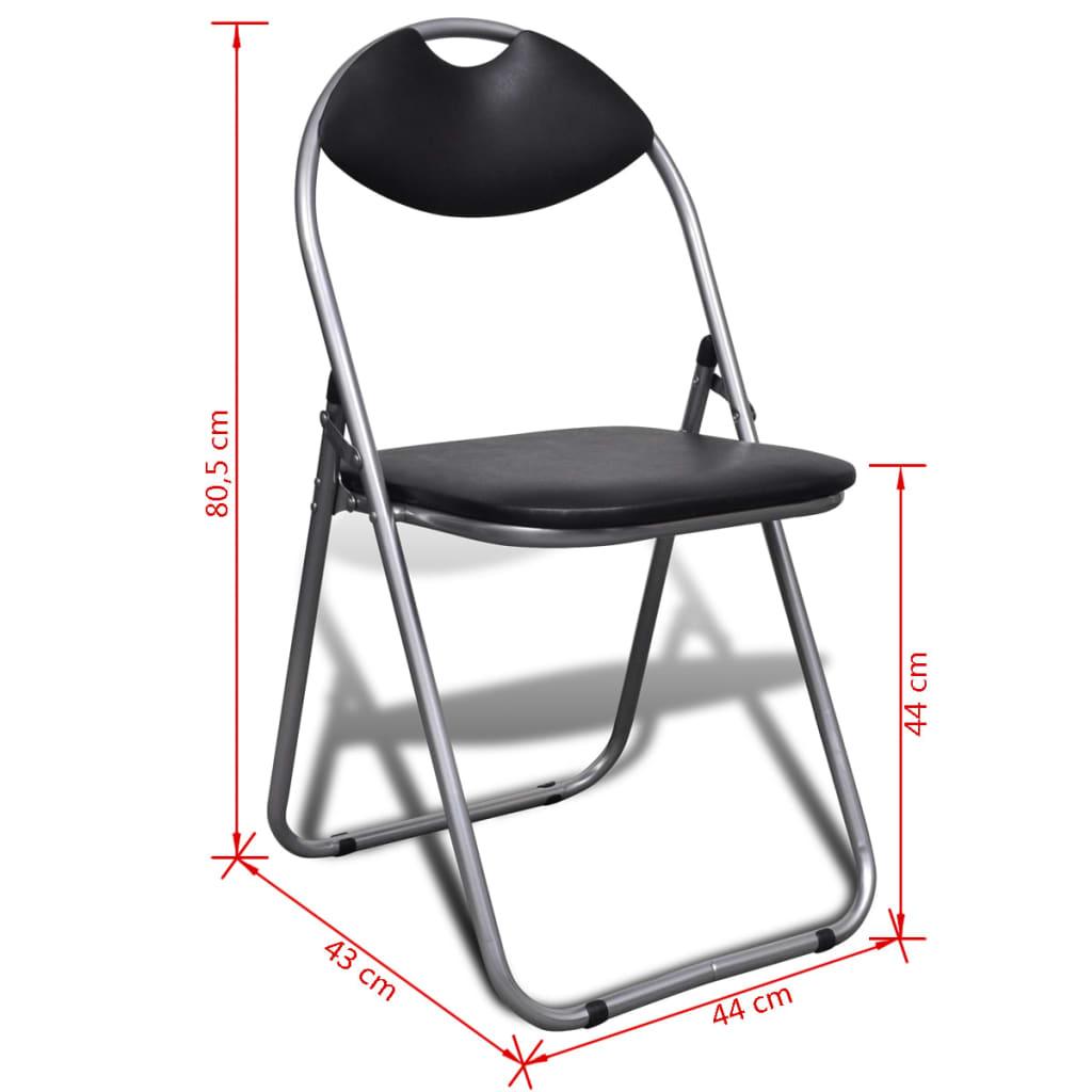 Set sedie pieghevoli 6 pz for Set 6 sedie moderne