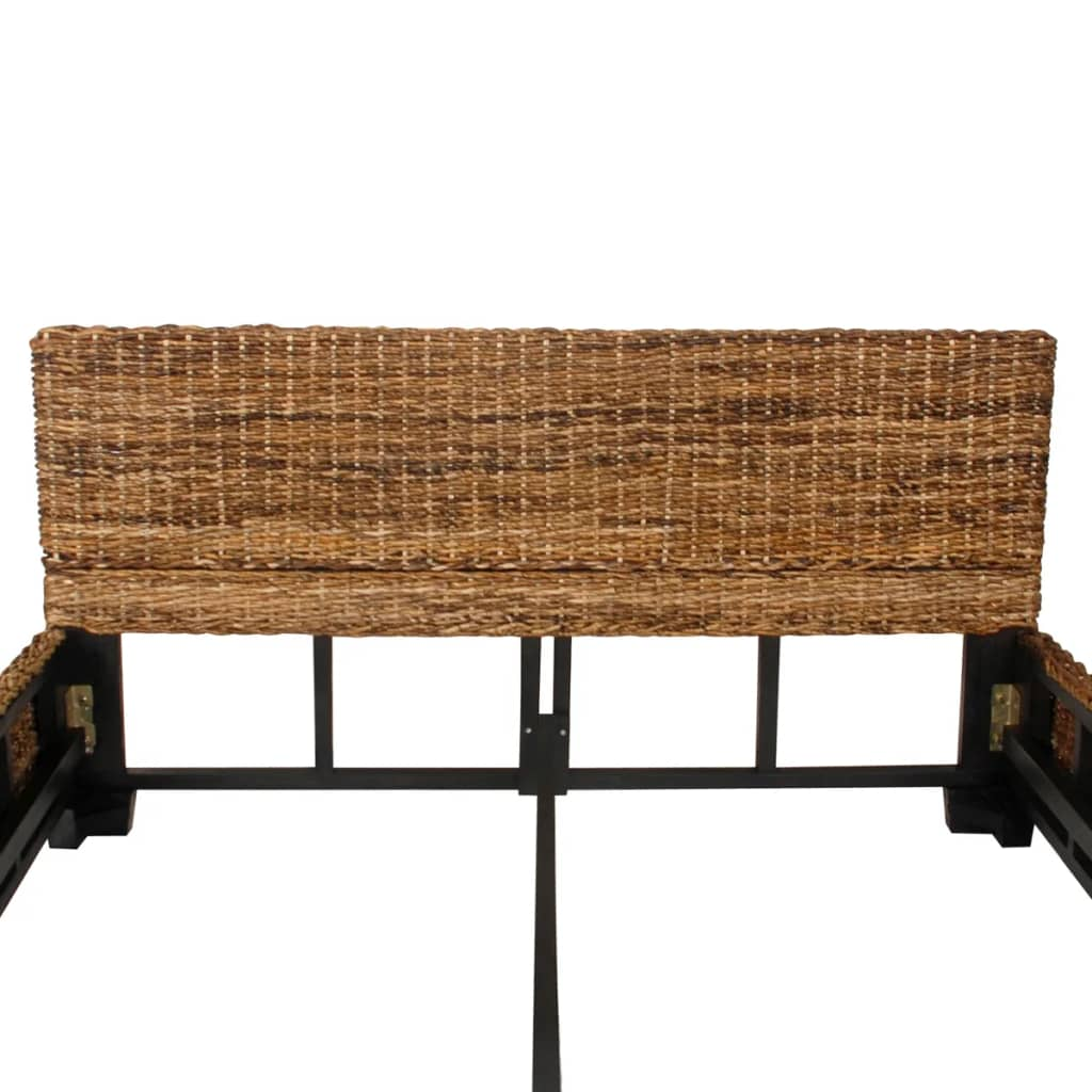 der bett handgewebt abaca rattan 140 x 200 cm online shop. Black Bedroom Furniture Sets. Home Design Ideas