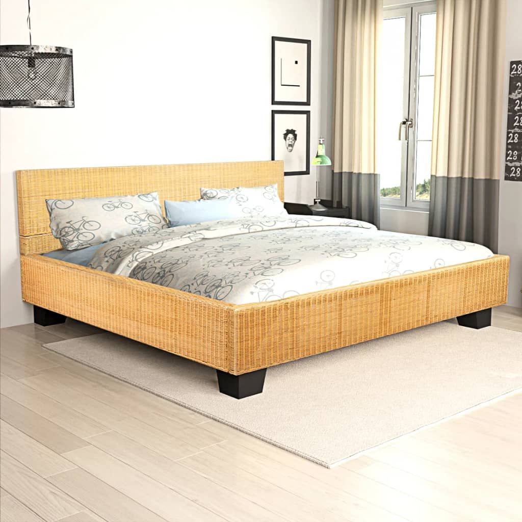 bett handgewebtes rattan 180 x 200 cm g nstig kaufen. Black Bedroom Furniture Sets. Home Design Ideas