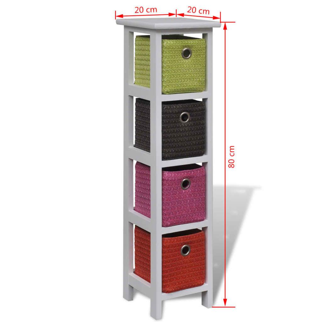 der kommode mit mehrfarbigen k rben online shop. Black Bedroom Furniture Sets. Home Design Ideas