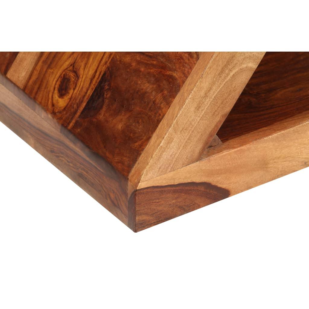 la boutique en ligne table d 39 appoint en bois de sheesham forme z. Black Bedroom Furniture Sets. Home Design Ideas