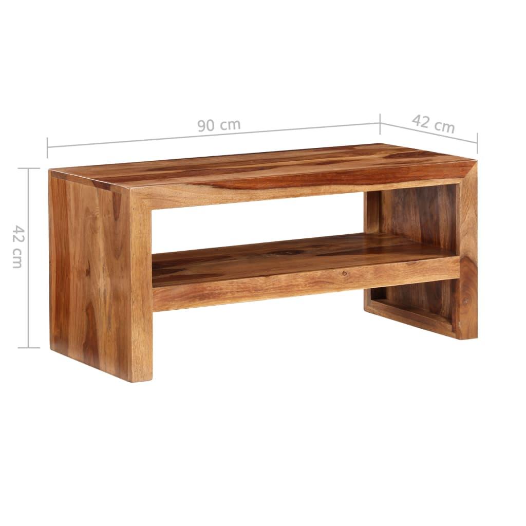 La boutique en ligne Table dappoint pour TV en bois de sheesham solide  -> Table Pour Tv